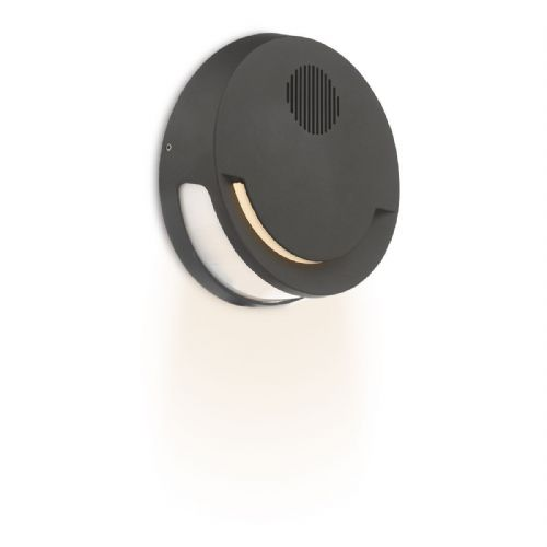 Outdoor Wall Light Grey with Bluetooth Speaker LED IP44 (double insulated) BXEUB2137-17